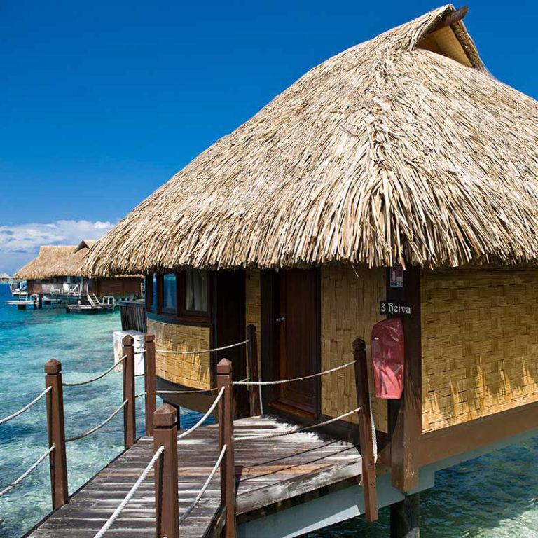 Combiné 5 îles : Tahiti, Moorea, Raiatea, Bora Bora, Rangiroa