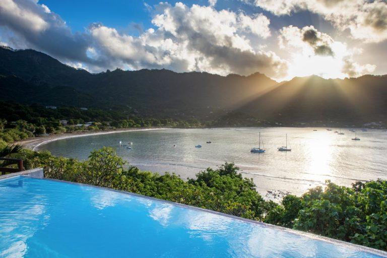 Combiné 7 îles Marquises, Société Et Tuamotu