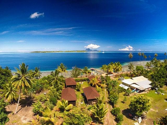 Voyage Polynésie : Combiné Nature 4 Îles De La Société