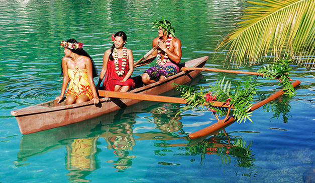 Combiné 3 îles de la Société : Tahiti, Moorea, Bora Bora, Tahiti