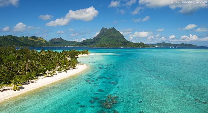 Découvrez Tahiti et les îles de la Société à bord du Paul Gauguin