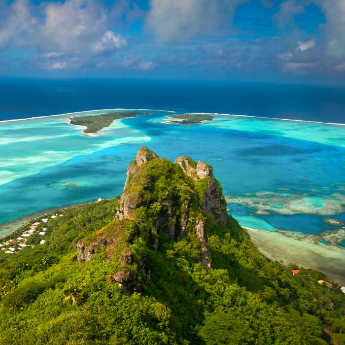 Grand tour des Iles de la Société : Tahiti, Moorea, Bora Bora, Raiatea, Maupiti