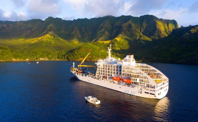 Découvrez les Marquises à bord de l'Aranui 5