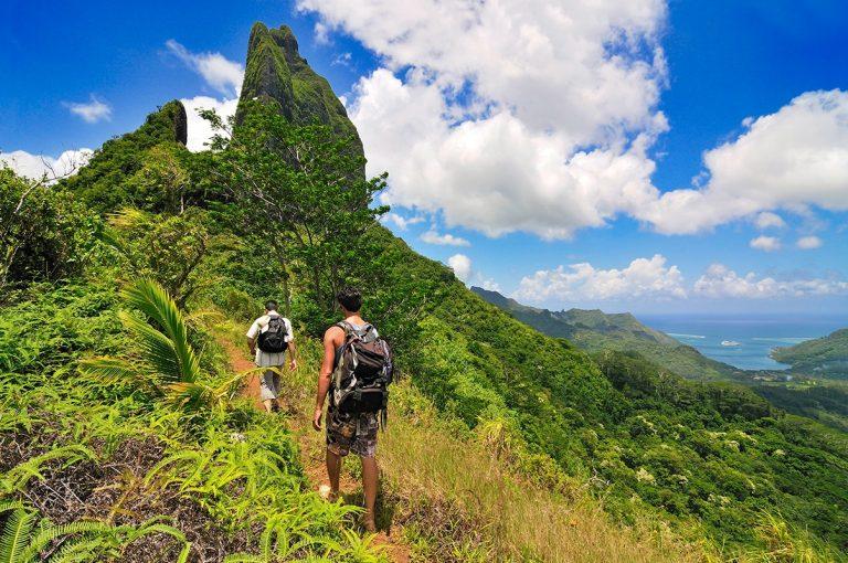 Randonnées et lagons de Polynésie